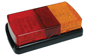 BE75LED Lamp Stop Tail with Indicator Oblong