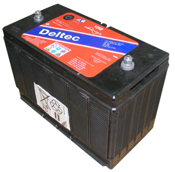 Deltec Battery - D1250 Screw Post