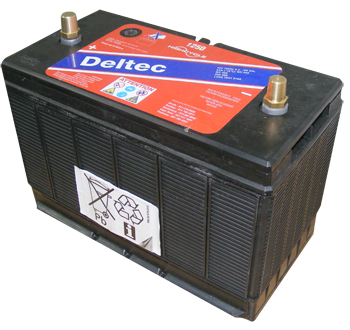 Deltec Battery - D1251 Solid Post