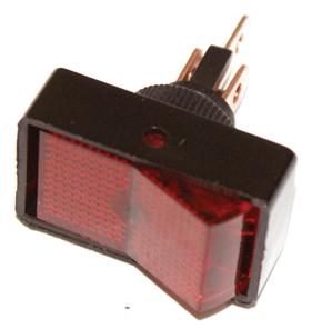K474 SWITCH ROCKER ON-OFF RED