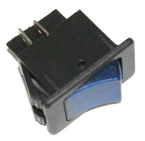 K632 SWITCH ROCKER ON-OFF BLUE