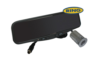 RING COLOUR REAR VIEW MIRROR MONITOR RBGM42