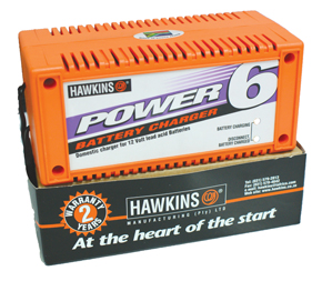 bhaw6 BATTERY CHARGER 6A HAWKINS