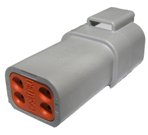 DT4FKIT--DEUTSCHE-PLUG--4-WAY-FEMALE